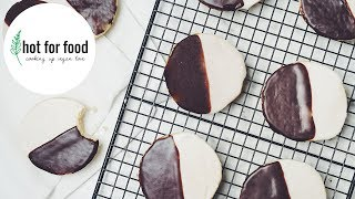 vegan black and white cookie | hot for food