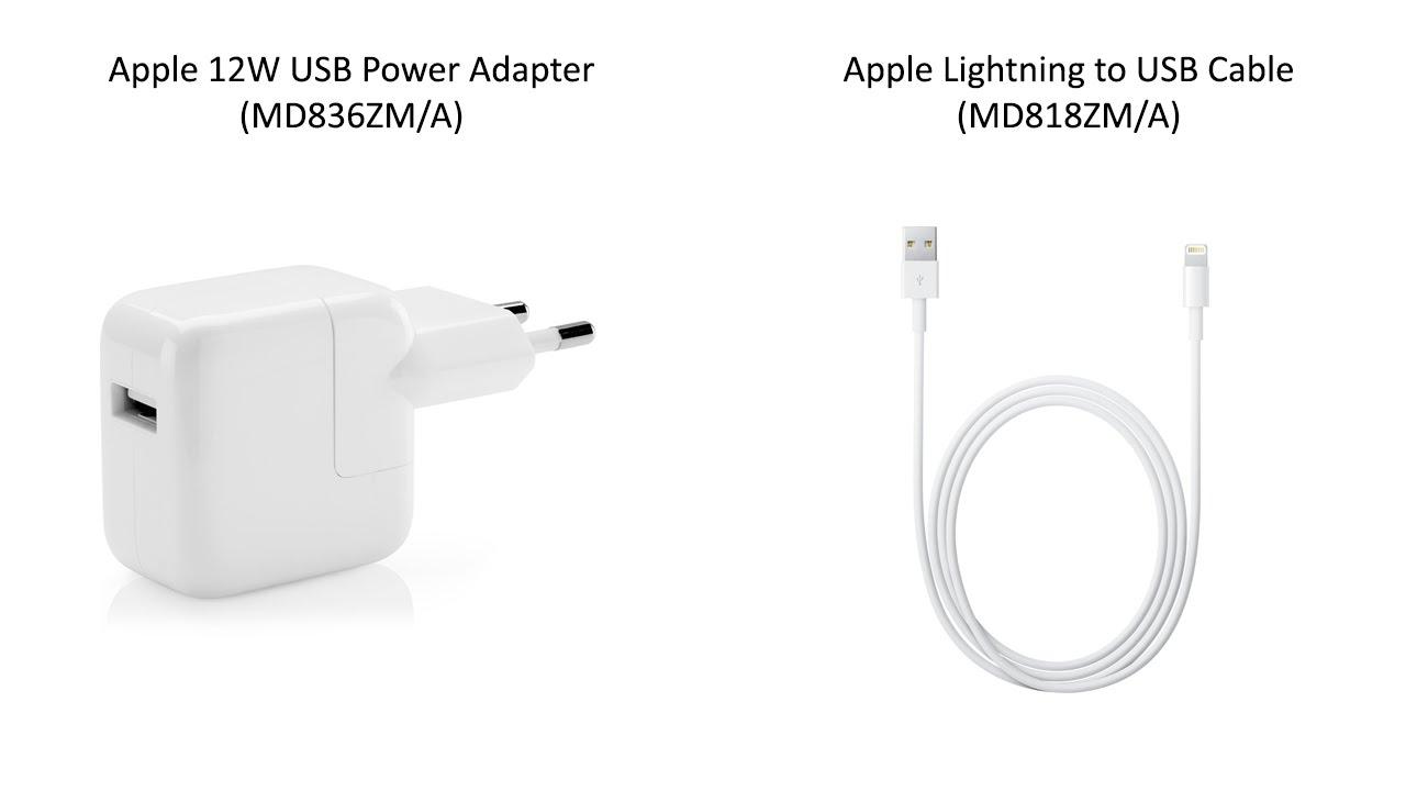 Unboxing Apple 12w Usb Power Adapter Md836zma Apple Lightning