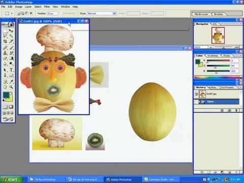 Video học Photoshop căn bản Bài 1-Sử dụng công cụ chọn