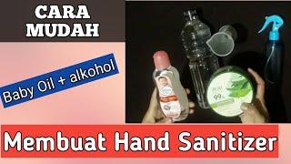 Cara gampang membuat hand sanitizer murah