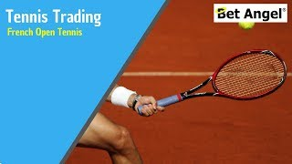 Betfair trading strategies - French Open Tennis - When it's great to see red!