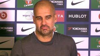 chelsea 0 1 manchester city pep guardiola full post match press conference premier league