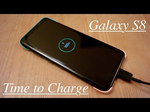 Time to Charge: Samsung Galaxy S8