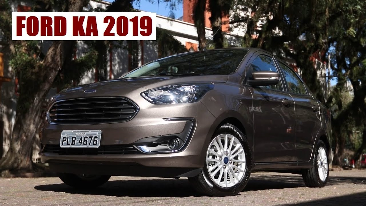 Ford Ka Sedan 2019 1 5 Titanium Por Emilio Camanzi Youtube