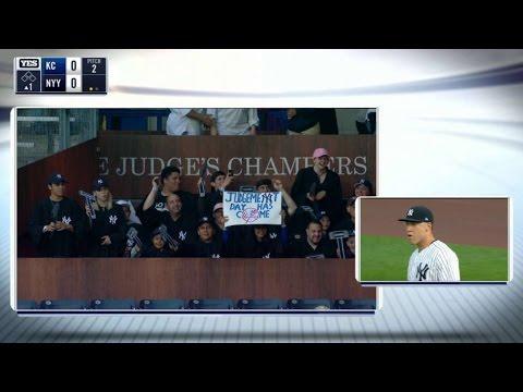 KC@NYY: 'The Judge's Chambers' at Yankee Stadium