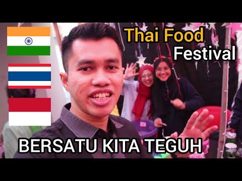 Visiting Thai Food Festival ll Apalagi ada akhwatnya😄 ll Makanan Lezat Thailand
