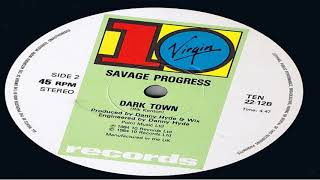 Savage Progress Dark Town 1984