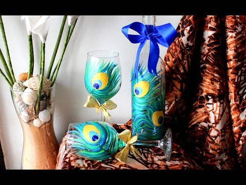 WINE GLASS PAINTING FOR BEGINNERS