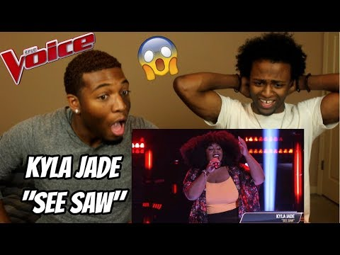 "The Voice 2018 Blind Audition - Kyla Jade: ""See Saw"" (REACTION)"