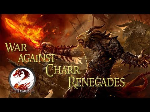 WoW player in Guild Wars 2 - War against Charr renegades. thumbnail