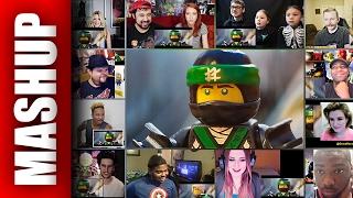 THE LEGO NINJAGO MOVIE Trailer Reactions Mashup