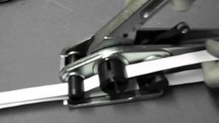 Лента ПП скоба  клещи натяжитель