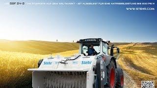 Stehr Bodenstabilisierungsfräse 24-2 im harten Praxiseinsatz [HD]