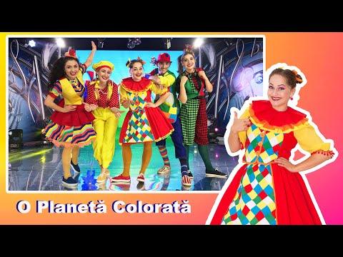 Trupa Planeta Clounella – O planeta colorata – Cantece pentru copii in limba romana