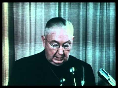 Cardinal O'Boyle and Father O'Donoghue clash on role of Catholic Church 1968
