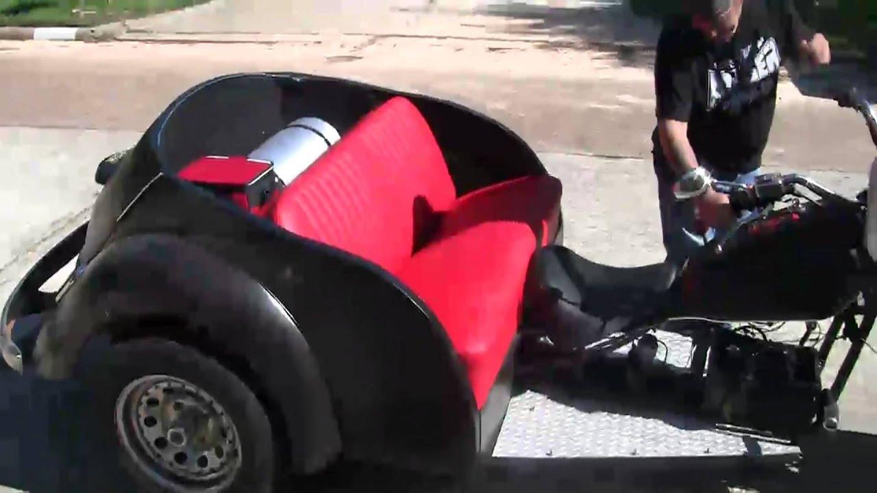 vw motorcycle custom ride vw bug trike youtube