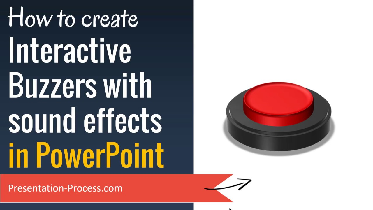 Create Interactive Buzzers in PowerPoint (Quiz with Sound Effects)