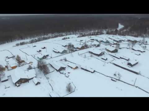 Деревня Залеменьга. Вельский район, Архангельская область
