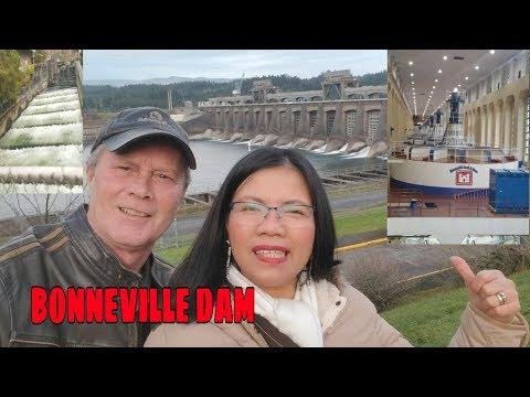 VLOG#9 GUIDED TOUR AT THE BONNEVILLE DAM & FISH LADDER
