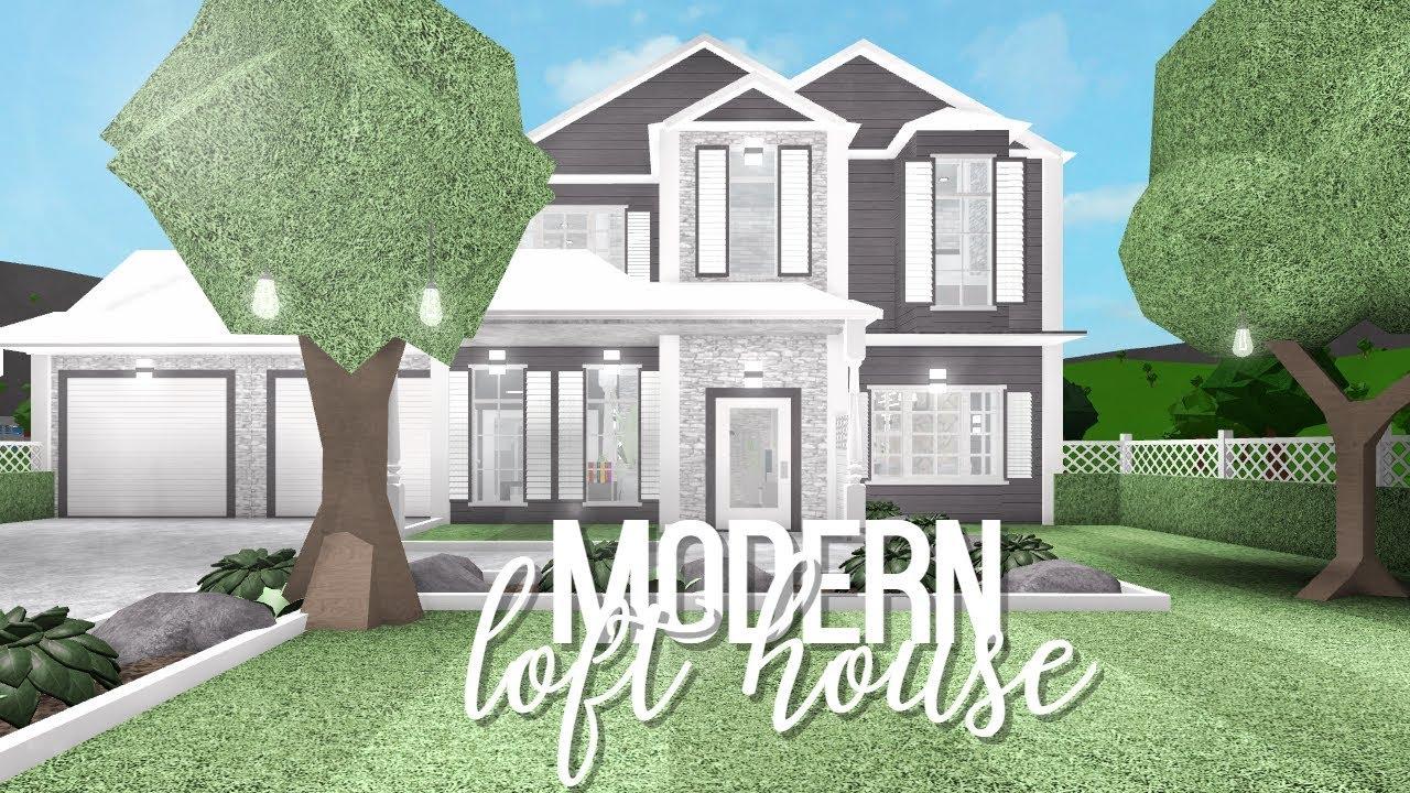Bloxburg: Modern Loft House 65k