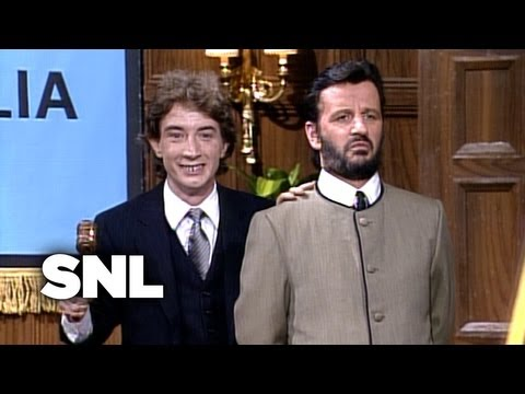 cold opening ringo starr saturday night live youtube. Black Bedroom Furniture Sets. Home Design Ideas