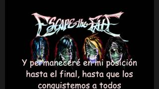 Repeat youtube video Escape The Fate - This War Is Ours subtitulado en Español
