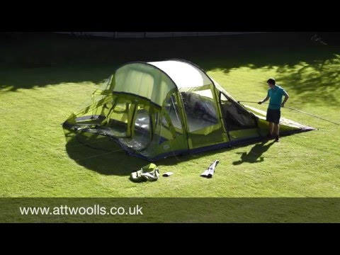 Vango Orava 600XL Pitching & Packing Video (Real Time)