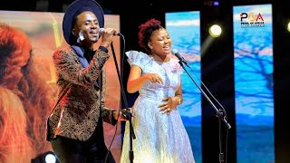 """Team Lion performs """"Lion Sleeps Tonight"""" 