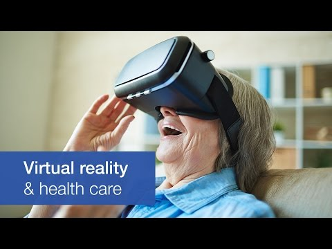 Virtual reality is finding a place in health care