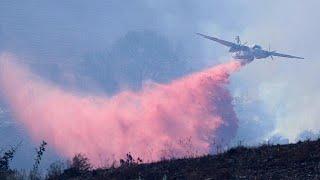 Orkán erejű szél táplálja a kaliforniai tűzvészt