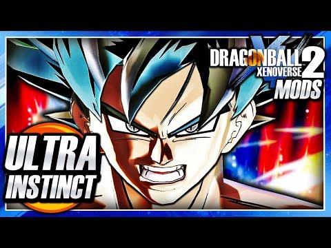 Dragon Ball Xenoverse 2 PC: Ultra Instinct Goku Kaioken Transformation DLC Mod Gameplay (DB Super)