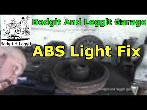 ABS light fix ford focus bodgit and leggit garage
