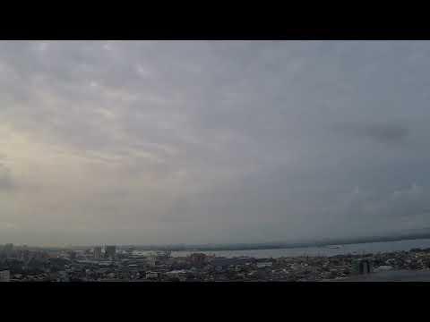 Cebu City Overlooking Mactan Island - Time Lapse  9-24-17