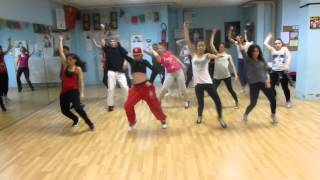 CHOREGRAPY FRED  RAGGA DANCEHALL  whine & kotch j capri & charly black