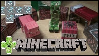 MineCraft: Stop Motion - Paper Cut Out Process