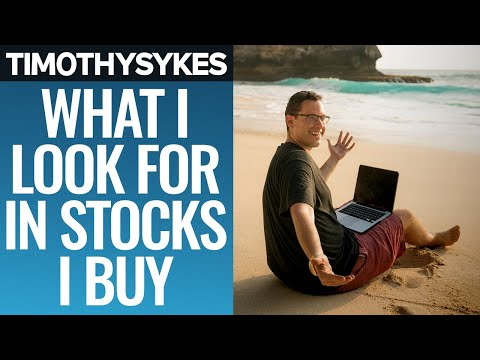 What I Look for in Stocks I Buy