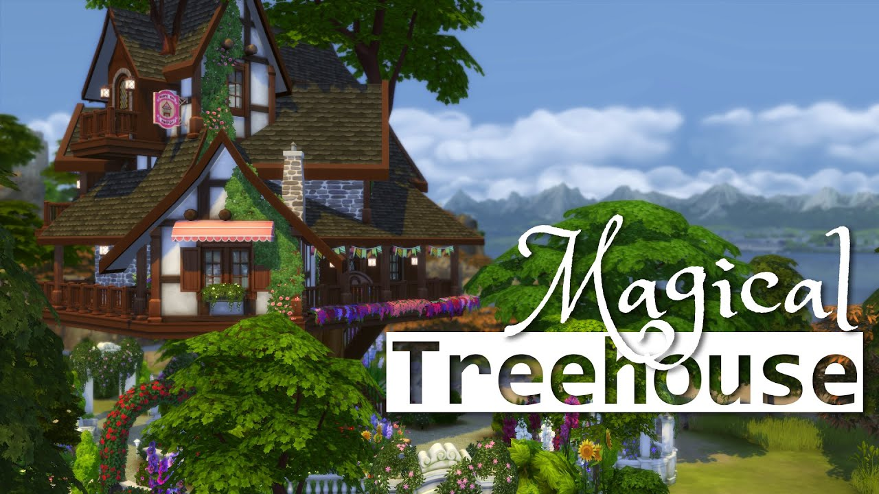 The Sims Weekly Build Challenge Week 35 Tree House thesims