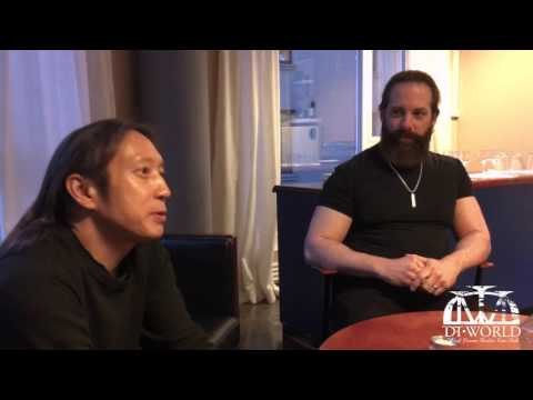 John Petrucci and John Myung