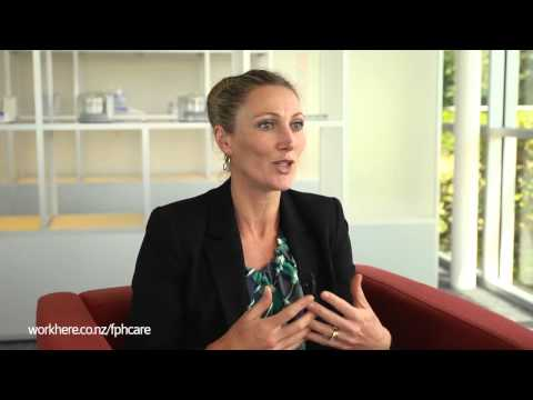 Fiona Cresswell - Marketing & Clinical Manager - Fisher & Paykel Healthcare - Workhere New Zealand