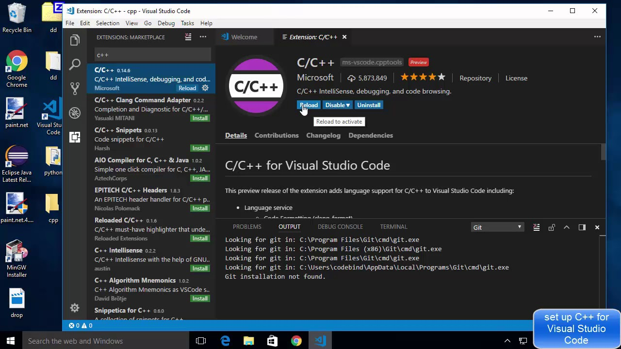 Set Up C++ Development With Visual Studio Code on Windows 10 (VS Code)