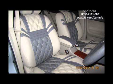 "TOYOTA PREMIO Seat Covers in ""DIAMOND SHAPE"" Upholstery by CAR MART"