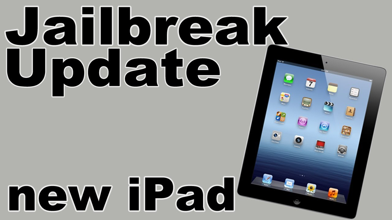 Jailbreak Update New Ipad 3rd Gen On 5 1 Youtube