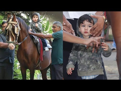 Taimur Ali Khan looking confident and cute in his first shot for movie !