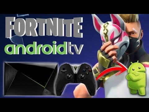 Fortnite En AndroidTV - NVIDIA SHIELD (GeForce NOW)