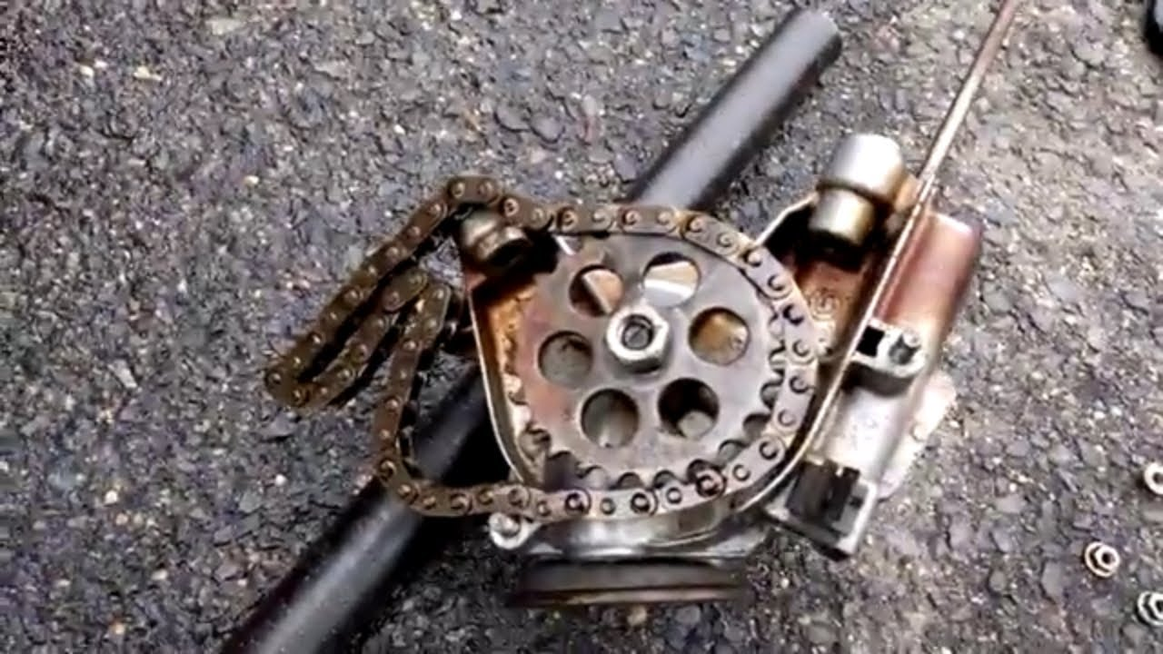 How to adjust your BMW oil pump chain video