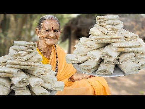 World Famous Putharekulu Sweet || Pootharekulu Making || Myna Street Food
