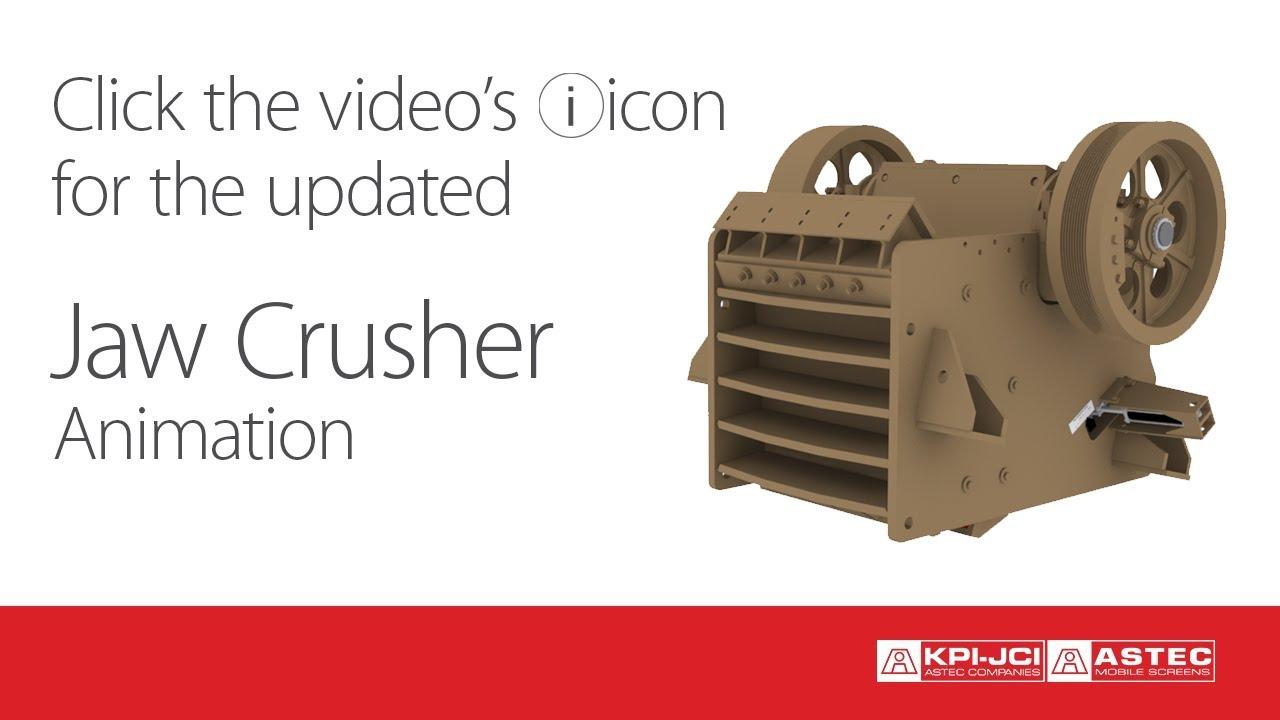 Jaw Crusher Animation - YouTube