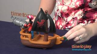 Jake And The Never Land Pirates Hook's Battle Boat From Fisher-price