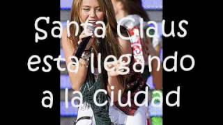 Santa Claus Is Coming To Town -Miley Cyrus (Traducida al Español)