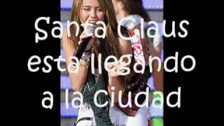 Santa Claus Is Coming To Town -Miley Cyrus (Traducida al Español)